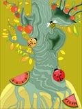 μαγικό δέντρο Στοκ Φωτογραφία