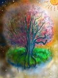 μαγικό δέντρο Στοκ εικόνες με δικαίωμα ελεύθερης χρήσης
