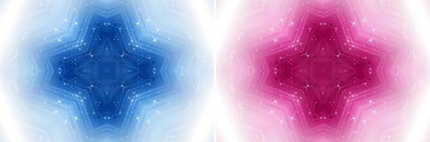 Μαγικό διαγώνιο υπόβαθρο με τα αστέρια ελεύθερη απεικόνιση δικαιώματος