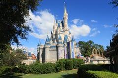 Μαγικό κάστρο βασίλειων στον κόσμο της Disney στο Ορλάντο Στοκ εικόνα με δικαίωμα ελεύθερης χρήσης