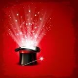 Μαγικό καπέλο διανυσματική απεικόνιση