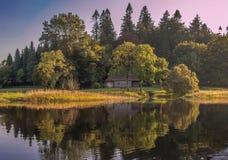 Μαγικό μέρος Enchanted στην Ιρλανδία Στοκ φωτογραφία με δικαίωμα ελεύθερης χρήσης