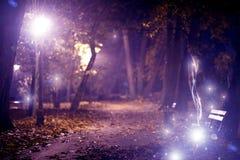 Μαγικό πάρκο πόλεων Στοκ Φωτογραφίες