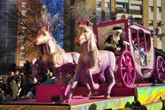 μαγικό ροζ παρελάσεων βα& Στοκ Εικόνα