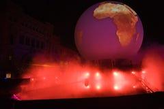Μαγικό φως διακοπών της Μόσχας Στοκ φωτογραφία με δικαίωμα ελεύθερης χρήσης