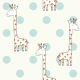 Μαγικό χαριτωμένο giraffe Στοκ Φωτογραφία