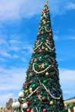 Μαγικό χριστουγεννιάτικο δέντρο βασίλειων στοκ φωτογραφία