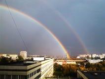 Μαγικό χρονικό ουράνιο τόξο Στοκ εικόνα με δικαίωμα ελεύθερης χρήσης