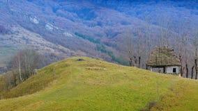 Μαγικό χωριό Transylvanian - Dumesti - Ρουμανία Στοκ φωτογραφία με δικαίωμα ελεύθερης χρήσης