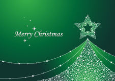 μαγικό δέντρο Χριστουγένν&om Στοκ εικόνα με δικαίωμα ελεύθερης χρήσης