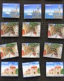 Μαγνήτες αναμνηστικών στοκ εικόνες με δικαίωμα ελεύθερης χρήσης