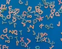 Μαγνήτες επιστολών στοκ φωτογραφία