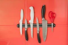 Μαγνήτης μαχαιριών στοκ φωτογραφία