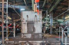 Μαγνητικά μηχανήματα διαχωριστών για χωριστοί σιδηρούχος και μη σιδηρούχος στοκ φωτογραφία με δικαίωμα ελεύθερης χρήσης