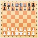 Μαγνητική σκακιέρα Έννοια εκπαίδευσης, μάθημα σκακιού, διανοητικό παιχνίδι στοκ εικόνες