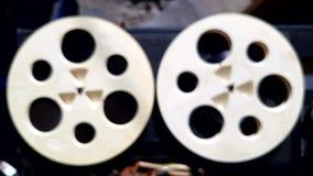 Μαγνητική ταινία θαμπάδων απόθεμα βίντεο
