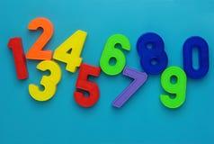 μαγνητικοί αριθμοί Στοκ εικόνα με δικαίωμα ελεύθερης χρήσης