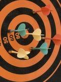 μαγνητικός στόχος βελών Στοκ Φωτογραφία