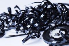 Μαγνητικό εξέλικτρο κασετών ήχου Στοκ Φωτογραφία