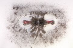 Μαγνητικό πεδίο φραγμών Στοκ φωτογραφία με δικαίωμα ελεύθερης χρήσης