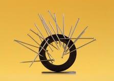 μαγνητισμένες καρφίτσες Στοκ εικόνα με δικαίωμα ελεύθερης χρήσης