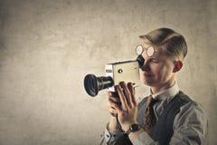 Μαγνητοσκόπηση ατόμων στοκ εικόνα με δικαίωμα ελεύθερης χρήσης