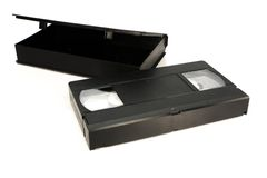 μαγνητοταινία VHS Στοκ φωτογραφίες με δικαίωμα ελεύθερης χρήσης