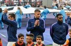 Μαδρίτη, Ισπανία - 1 ΜΑΐΟΥ 2019: Ποδοσφαιριστής του Τόττεναμ κατά τη διάρκεια του τελικού αγώνα UEFA Champions League 2019 μεταξύ στοκ εικόνα