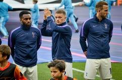 Μαδρίτη, Ισπανία - 1 ΜΑΐΟΥ 2019: Ποδοσφαιριστής του Τόττεναμ κατά τη διάρκεια του τελικού αγώνα UEFA Champions League 2019 μεταξύ στοκ εικόνες με δικαίωμα ελεύθερης χρήσης