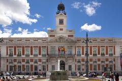 ΜΑΔΡΊΤΗ, ΙΣΠΑΝΙΑ - 28 ΜΑΐΟΥ 2014: Κέντρο της πόλης της Μαδρίτης, Puerta del Sol πλατεία Στοκ Εικόνες