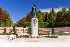 ΜΑΔΡΊΤΗ, ΙΣΠΑΝΙΑ 11 Σεπτεμβρίου 2015: Μνημείο στο πάρκο Buen σχετικά με Στοκ Εικόνα