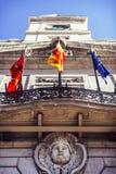 ΜΑΔΡΊΤΗ, ΙΣΠΑΝΙΑ - 8 ΣΕΠΤΕΜΒΡΊΟΥ: Puerta del Sol, Μαδρίτη, ένα από Στοκ Εικόνες
