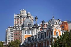 Μαδρίτη, Plaza de Espana Στοκ Εικόνες