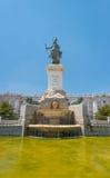 Μαδρίτη Plaza de Oriente Statue του Felipe IV Στοκ εικόνες με δικαίωμα ελεύθερης χρήσης