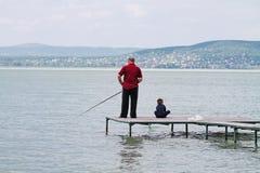 Μαζί στην αποβάθρα Στοκ φωτογραφία με δικαίωμα ελεύθερης χρήσης