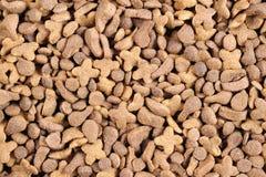 Μαζικά τρόφιμα γατών Στοκ Εικόνες