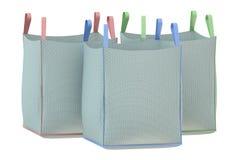 μαζικές τσάντες Στοκ Εικόνες