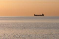 μαζικό σκάφος οριζόντων Στοκ Φωτογραφία