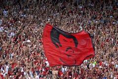 Μαζορέτα Flamengo Στοκ φωτογραφίες με δικαίωμα ελεύθερης χρήσης
