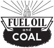 Μαζούτ και άνθρακας απεικόνιση αποθεμάτων