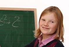 μαθήτρια στοκ εικόνα με δικαίωμα ελεύθερης χρήσης