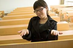 μαθήτρια Στοκ εικόνες με δικαίωμα ελεύθερης χρήσης
