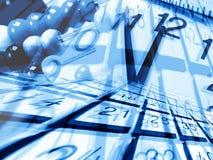 μαθηματικά εργαλεία Στοκ εικόνα με δικαίωμα ελεύθερης χρήσης