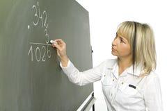 μαθηματικά μαθήματος στοκ φωτογραφίες