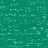 μαθηματικά πινάκων άνευ ραφή ελεύθερη απεικόνιση δικαιώματος