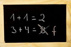 μαθηματικά Στοκ φωτογραφία με δικαίωμα ελεύθερης χρήσης