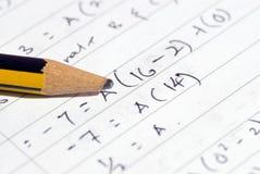 Μαθηματικά Στοκ εικόνα με δικαίωμα ελεύθερης χρήσης