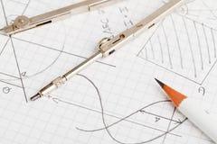 Μαθηματικά στοκ εικόνες
