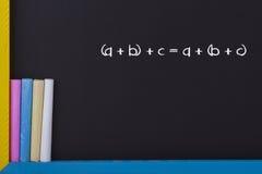 μαθηματικά στοκ εικόνα