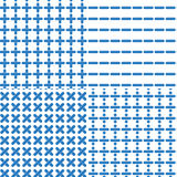 Μαθηματικό άνευ ραφής σχέδιο συμβόλων Στοκ φωτογραφία με δικαίωμα ελεύθερης χρήσης